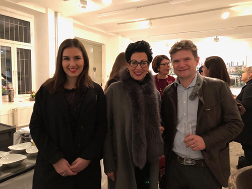 Vernissage with Katharina Swiridoff, SZS and Christopher Lehmpfuhl